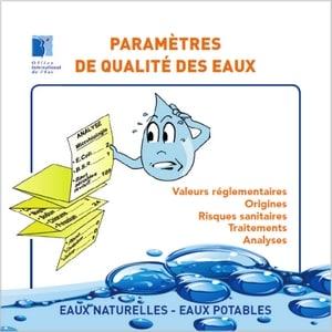 Livret «Paramètres de qualité des eaux»